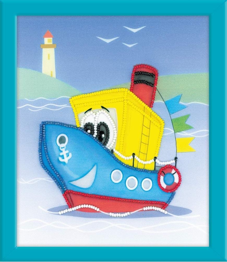 Картинка детского кораблика